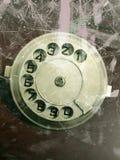 Винтажный диск телефона Стоковое фото RF