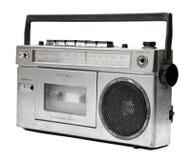 Винтажный кассетный магнитофон радио стоковые изображения