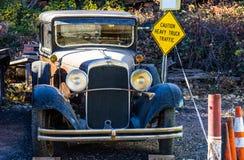 Винтажный классический автомобиль стоковая фотография
