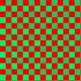 Винтажный комплект doodle в зеленой и красной для дизайна печати Стоковые Фото