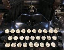Винтажный конец машинки вверх по взгляду стоковое изображение rf