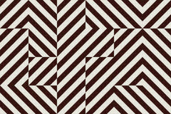Винтажный конспект квадратов и треугольников ткани Стоковые Изображения