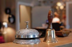 Винтажный колокол гостиницы стоковые изображения rf