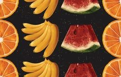 Винтажный красивый и ультрамодный безшовный злободневный дизайн картины лета в супер высоком разрешении Текстура украшения картин иллюстрация штока