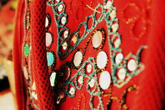Винтажный красный цвет стоковые изображения rf