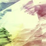 Винтажный красочный фон в ретро стиле Стоковое фото RF