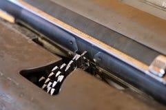 Винтажный крупный план машинки Стоковое фото RF