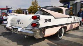 Винтажный классический американский автомобиль 50-60Â's стоковые фотографии rf