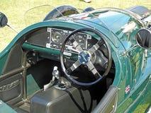 Винтажный классический motorcar Уилера Моргана 3 Стоковая Фотография