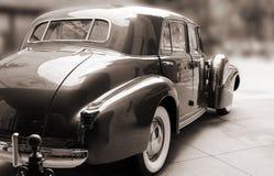 Винтажный классический Sepia автомобиля Стоковое Изображение