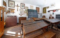 Винтажный класс школы Стоковое Фото