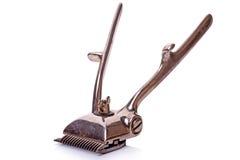 Винтажный клипер волос Стоковое фото RF