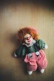 Винтажный клоун куклы Стоковое Изображение