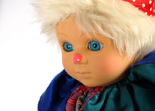 Винтажный клоун марионетки Стоковая Фотография