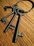 Винтажный ключ Стоковое Изображение