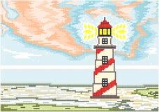 Винтажный маяк Стоковое Фото