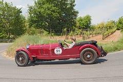 Винтажный Мерседес-Benz 710 SS автомобиля (1929) Стоковые Изображения