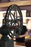 Винтажный механизм настройки радиопеленгатора стоковые фото