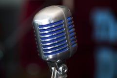 Винтажный микрофон Стоковое Изображение RF