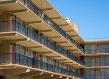 Винтажный мотель стоковое изображение rf