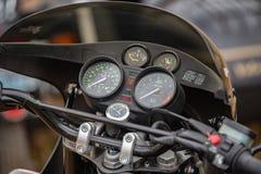 Винтажный мотоцикл BMW стоковые фотографии rf
