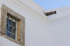 Винтажный наполеоновский карамболь na górze дома в Алгарве стоковое изображение rf
