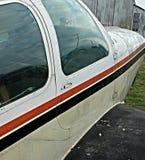 Винтажный нос воздушных судн Стоковое Изображение RF