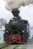 Винтажный локомотив поезда пара Стоковая Фотография