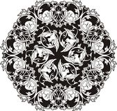 Винтажный орнамент круга бесплатная иллюстрация