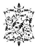 Винтажный орнамент предпосылки стиля изолированный над белизной стоковое фото