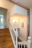 Винтажный особняк - лестница стоковое изображение rf