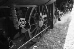 Винтажный поезд двигателя потока локомотивный jpg Стоковое Фото