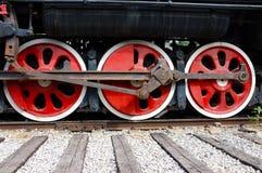 Винтажный поезд пара Стоковое Изображение RF
