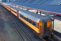 Винтажный поезд Стоковые Фотографии RF