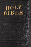 Винтажный позвоночник книги библии Стоковые Изображения RF