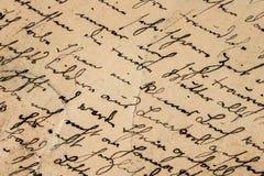 Винтажный почерк предпосылка детализировала сбор винограда текстуры пятен разрешения grunge высокий бумажный Стоковое фото RF