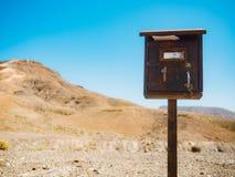 Винтажный почтовый почтовый ящик Стоковые Фото