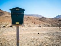 Винтажный почтовый почтовый ящик Стоковая Фотография