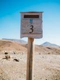 Винтажный почтовый почтовый ящик Стоковые Изображения RF