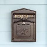 Винтажный почтовый ящик Стоковые Изображения RF