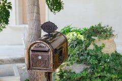 Винтажный почтовый ящик Стоковое фото RF