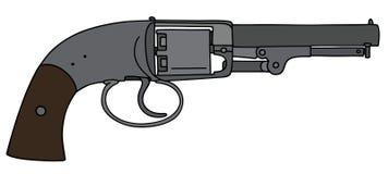 Винтажный револьвер Стоковое фото RF