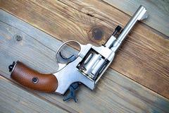 Винтажный револьвер nagant Стоковые Изображения RF