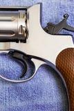 Винтажный револьвер Nagan Стоковое Фото