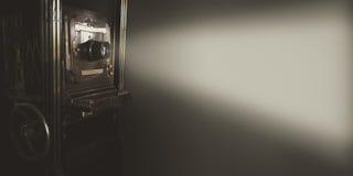 Винтажный репроектор кино Стоковая Фотография RF