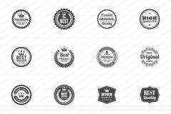 Винтажный ретро логотип вектора для знамени бесплатная иллюстрация
