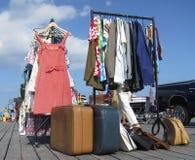 Винтажный рынок Стоковое Фото