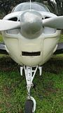Винтажный самолет Стоковое фото RF