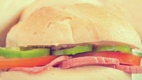 Винтажный сандвич Стоковое фото RF