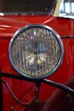 Винтажный свет автомобиля Стоковое Изображение